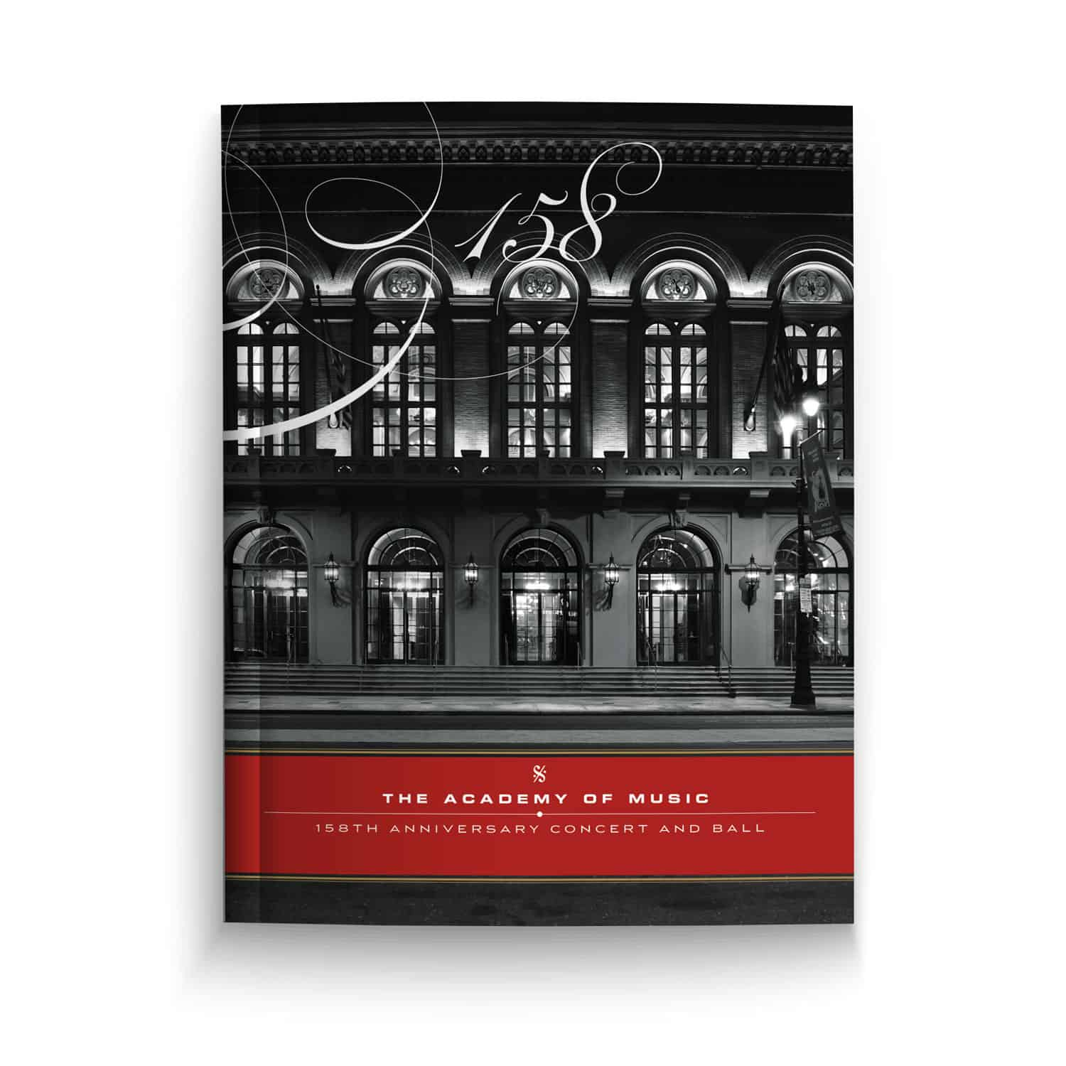 Academy of Music, 158th Anniversary Concert and Ball Program Book
